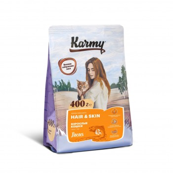 Karmy / Карми Хэйр и Скин Лосось, 0,4 кг