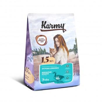 Karmy / Карми Гипоаллергенный Утка, 1,5 кг