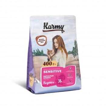 Karmy / Карми Сенситив Индейка, 0,4 кг