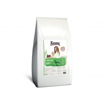 Karmy / Карми Стерилайзд Утка, 10 кг