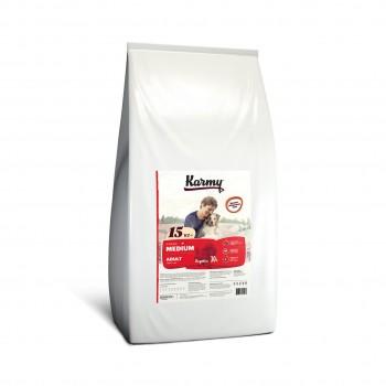 Karmy / Карми Медиум Эдалт Индейка, 15 кг