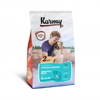 Karmy / Карми Гипоаллергенный Медиум и Макси Ягненок, 2 кг