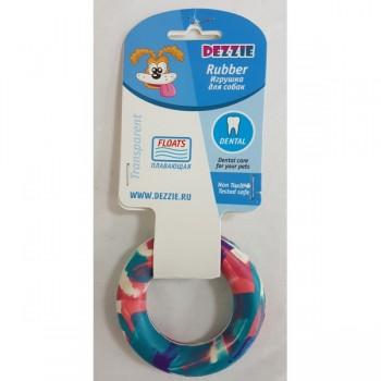 "Dezzie / Деззи Игрушка для собак ""Кольцо"" для собак, 8,5 см, резина"