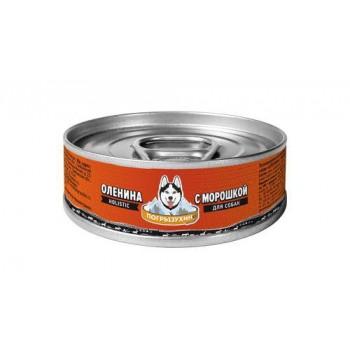 Погрызухин Оленина с морошкой 100 гр