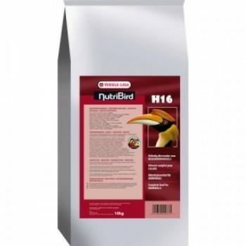 Versele-Laga гранулированный корм для крупных попугаев NutriBird H16 10 кг