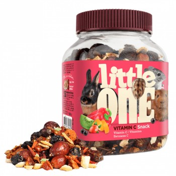 Little One Лакомство для всех видов грызунов Витамин С, 180 гр