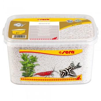 Sera / Сера грунт натуральный для аквариума Gravel White (Белый) 1-3 мм. 6 л.