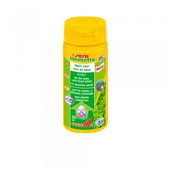 Sera / Сера Удобрение для растений FLORENETTE A 50 таблеток