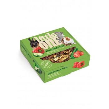Little One Пицца с овощами. Лакомство - игрушка для всех видов грызунов, 55 гр
