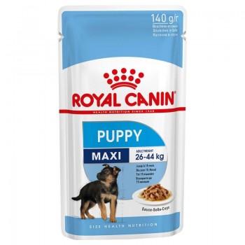 Royal Canin / Роял Канин Maxi Puppy корм для щенков крупных пород c 2 до 10 месяцев (соус), 140 гр
