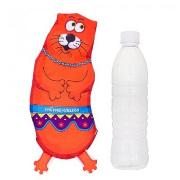 """Антицарапки Игрушка для собак """"Тетя кошка"""" под бутылку 0,5 л"""