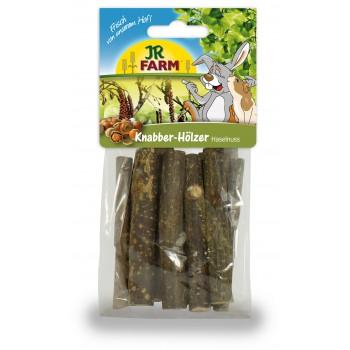 JR Farm 02093 Палочки д/грызения из лесного ореха, 40 гр
