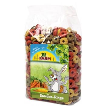 JR Farm 03357 Лакомство д/грызунов Овощные колечки, 200 гр