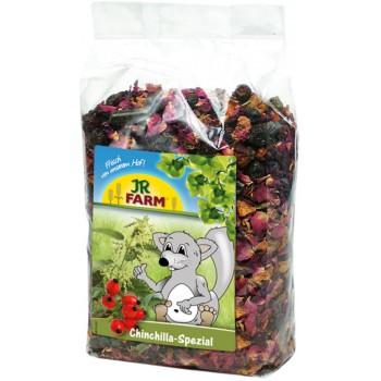 JR Farm 02256 Лакомство д/шиншилл с морковью, шиповником и лепесками роз, 500 гр