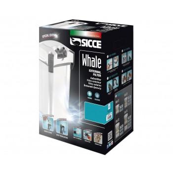 Sicce / Сичче Фильтр внешний WHALE 350 белый 1100 л/ч для аквариумов 180-350 л