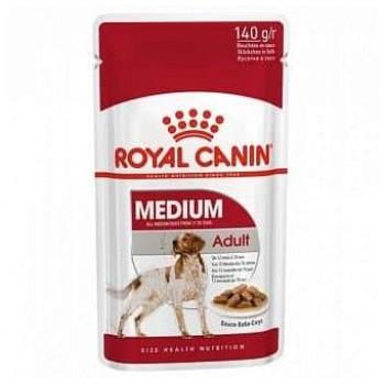 Royal Canin / Роял Канин Medium Adult корм для собак средних пород с 10 месяцев до 10 лет (соус), 140 гр