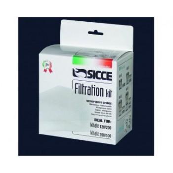 Sicce / Сичче Фильтрующие губки для внешнего фильтра WHALE 350-500 3 шт.