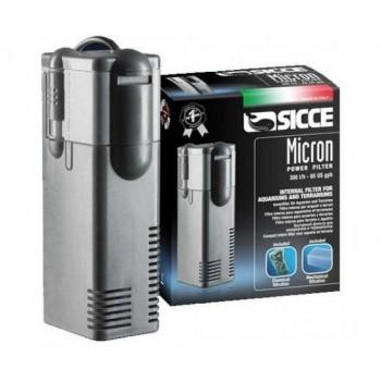 Sicce / Сичче Фильтр внутренний MICRON POWER FILTER, 300 л/ч для аквариумов до 75 л. 42х48хh135 мм