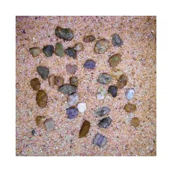 Hydor / Хидор H2SHOW грунт натуральный крупный песок + галька 5 кг