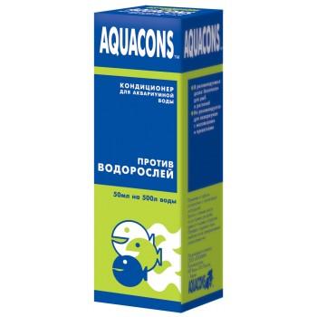 """Aquacons / Акваконс Кондиционер для воды """"Против водорослей"""", 50 мл"""