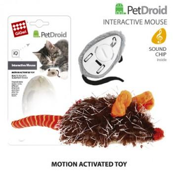 GiGwi / ГиГви 75359 Интерактивная мышка