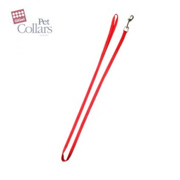 GiGwi / ГиГви 75140 Поводок XL, красный нейлон/25мм х 120 см