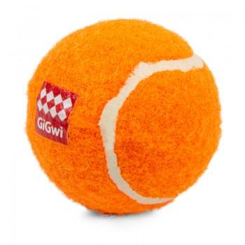 GiGwi / ГиГви 75011 Мяч (3) с пищалкой маленький/теннисный материал