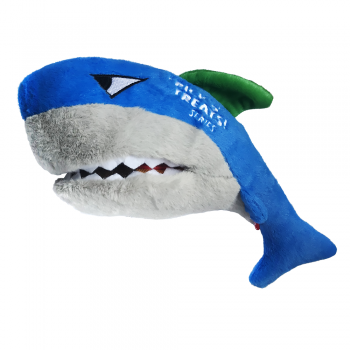 GiGwi / ГиГви 75524 Акула с пищалкой с нишой под лакомство