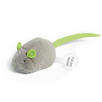 GiGwi / ГиГви Игрушка для кошек Мышка со звуковым чипом 6 см, серия MELODY CHASER