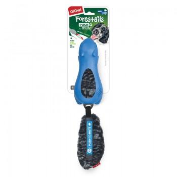 GiGwi / ГиГви 75540 Игрушка Белка с отключаемой пищалкой, резина/ткань, синяя