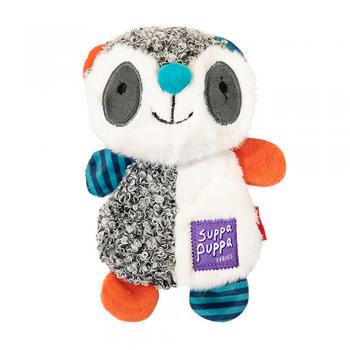 GiGwi / ГиГви Игрушка для маленьких собак Енот с пищалкой 17,5 см, серия SUPPA PUPPA