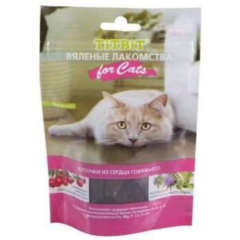 TitBit / ТитБит Вымя говяжье для кошек (Вяленые лакомства) 50 г