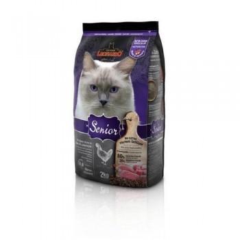 Leonardo / Леонардо Сеньор корм кошек старшего возраста, начиная с 10-го года жизни, 2 кг