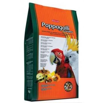 Padovan / Падован Grandmix Pappagalli корм для крупных попугаев основной, 2 кг