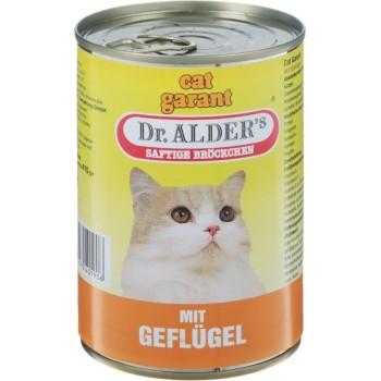 Dr.Alders / Доктор Алдерс Гарант кон.д/кошек Курица, 415 гр