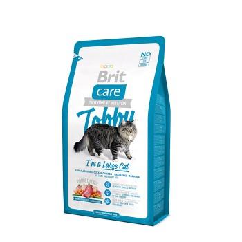 Brit / Брит Care Cat Tobby для кошек крупных пород, 2 кг