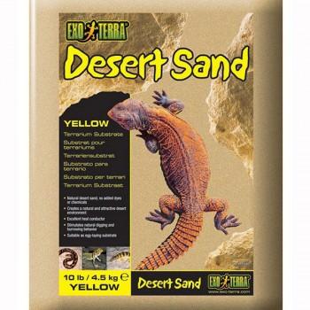 Exo Terra / Экзо Терра Песок для террариумов Desert Sand желтый 4,5 кг. PT3103