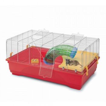 Imac / Имак клетка д/грызунов RAT 80, красный, 80х48,5х37,5 см