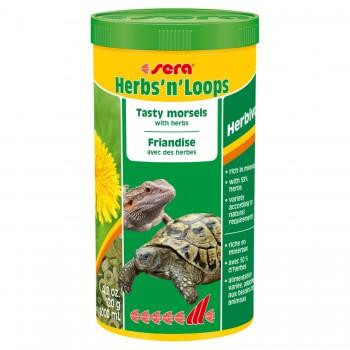 Sera / Сера Корм для рептилий Herbs'n'Loops 1000 мл 120 г