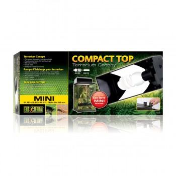 Exo Terra / Экзо Терра Cветильник Compact Top для террариумов Арт: PT2600, PT2602 30x30x45 см. PT2225
