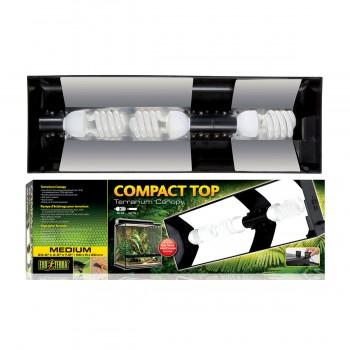 Exo Terra / Экзо Терра Cветильник Compact Top для террариумов Арт: РТ2604, 2608, 2610, 2612., 60x9x20 см. PT2227