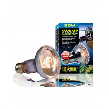 Exo Terra / Экзо Терра Лампа для болотных и водяных черепах Swamp Basking Spot  50 Вт. PT3780