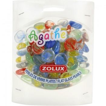 """Zolux / Золюкс Украшения для аквариума стеклянные """"Агат"""", S (мульти цвет), 430 г"""