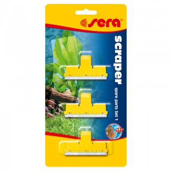 Sera / Сера Насадки для скребка Scraper /для натурального стекла/