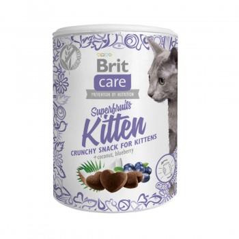 Brit / Брит Care лакомство д/кошек Superfruits Kitten Суперфрутс для котят, 100 гр
