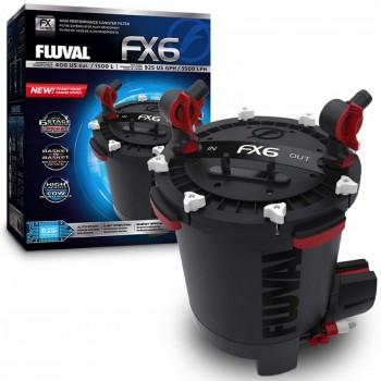 Hagen / Хаген Фильтр внешний FLUVAL FX6, 2130 л/ч  /аквариумы до 1500 л./ A219