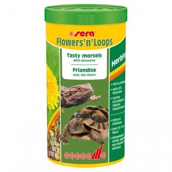 Sera / Сера Корм для рептилий Flowers'n'Loops 1000 мл 140 г