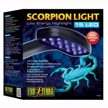 Exo Terra / Экзо Терра Светильник ночной для скорпионов Scorpion Light 15x16.5x7 см. PT2365