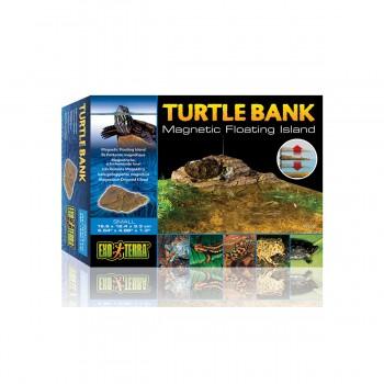 Exo Terra / Экзо Терра Черепаший берег Turtle Island Magnetic 16.1x11x2 см. PT3800