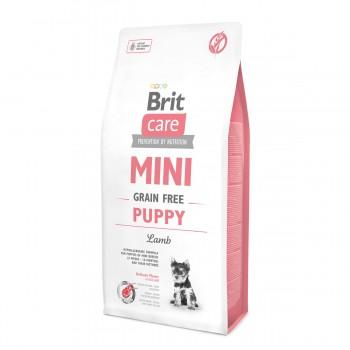 Brit / Брит Care MINI GF Puppy Lamb беззерновой корм д/щенков мини-пород, ягненок, 2 кг